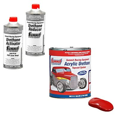 Summit Racing Equipment Acrylic Urethane Paint Combos Sum Csumup321 Free Shipping On Orders