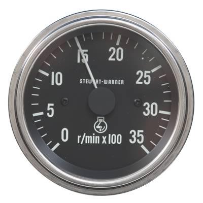 stewart warner deluxe series tachometers 82636 shipping on stewart warner deluxe series tachometers 82636 shipping on orders over 99 at summit racing