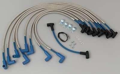 Taylor Spark Plug Wire Set 80603; SST 8mm Blue 135° for AMC Chevy V8