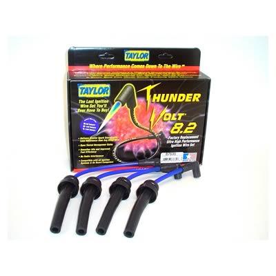 DODGE NEON Taylor ThunderVolt 8.2mm Spark Plug Wire Sets 87635 on neon spark plug tubes, neon indicator lights, neon spark plug signs, neon shifter bushings, neon spark plug lights, light-up motorcycle plug wires, neon headlights, neon spark coil,