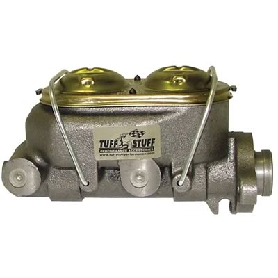 "Tuff Stuff Brake Master Cylinder 2150NA; Chrome 1.000/"" Bore Single Reservoir"