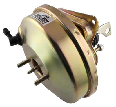 """Tuff Stuff Power Brake Booster 2223NC; 8/"""" Black Powdercoat Steel Dual Diaphragm"""