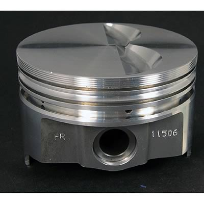 Keith Black Pistons Forged Flat 4 040 Bore Chevy 327 Set of 8 IC792