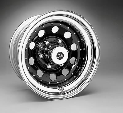 "Wheel 94 Series Black Steel Modular Wheel 15/""x8/"" 5x4.5/"" BC 94-5812 U.S"