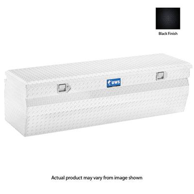 Standard Chest Wedged with Beveled Insulated Lid UWS TBC-42-W-BLK 42-Inch Black