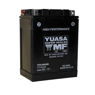 Yuasa AGM High Performance Maintenance-Free Batteries YUAM62H4A for your  POLARIS SPORTSMAN 570 EPS
