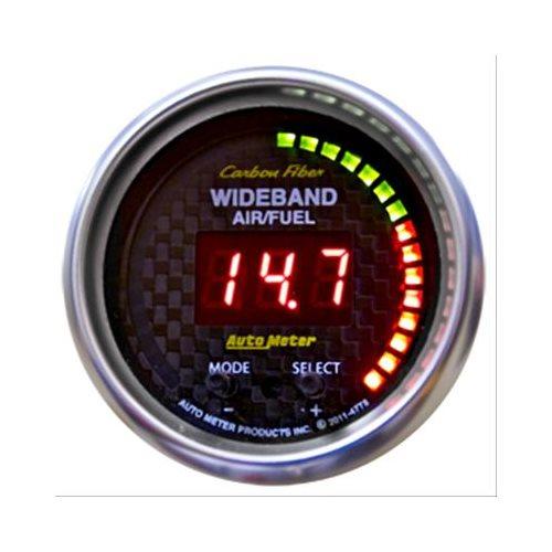 Summit Digital Meters : Auto meter carbon fiber ultra lite digital gauge ebay