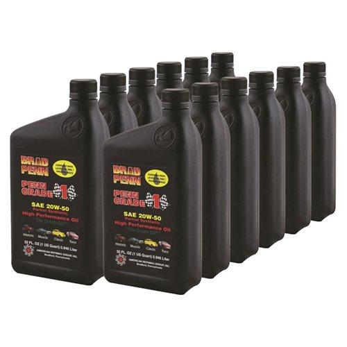 Brad Penn Motor Oil Grade 1 Semi Synthetic 20w50 Zddp