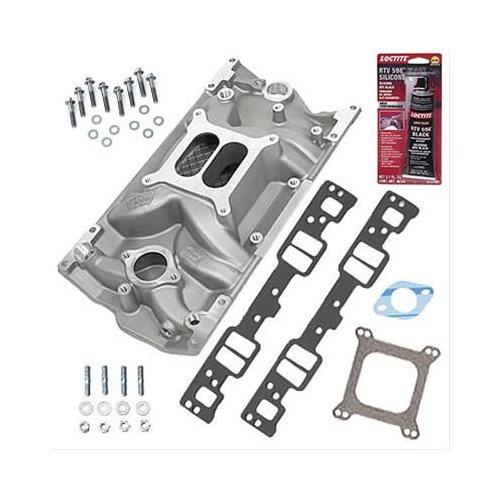 SBC 350 Chevy Vortec Weiand 8121 Intake Manifold W/Gaskets