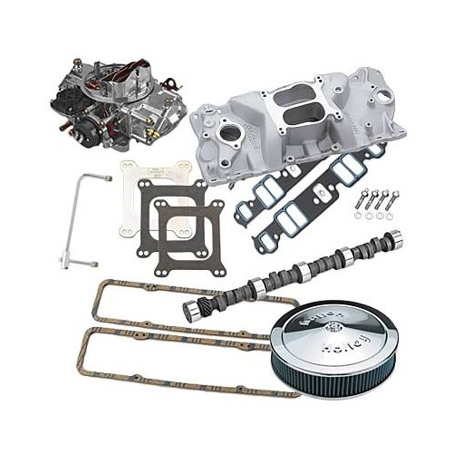 SBC Chevy 350 Edelbrock 2101, Lunati Cam, 570cfm Holly