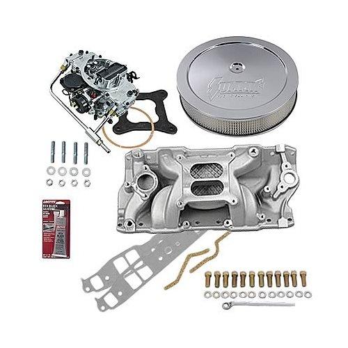 SBC Chevy 350 Stage 3 Intake Manifold, 750 Cfm V/S Carb