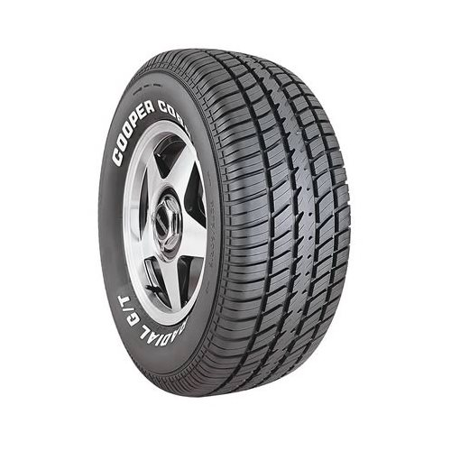 cooper cobra g t tire 275 60 15 solid white letters radial With solid white letter tires