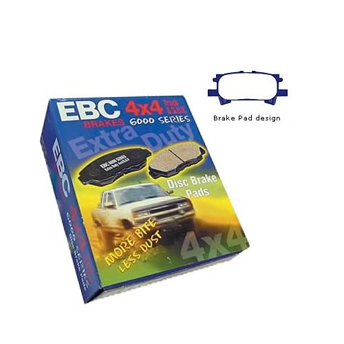 EBC Greenstuff 6000 Series Supreme Truck and SUV Brake Pads DP61682