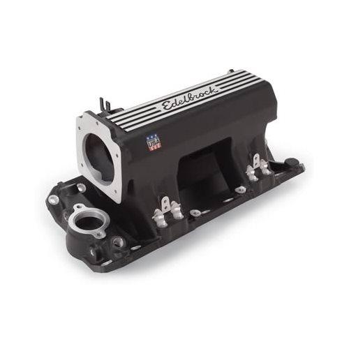 Edelbrock Fuel Rails Pro-Flo XT EFI Aluminum Black Anodized SBC Pair