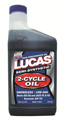 Lucas Oil Motor Oil Semi Synthetic 2 Cycle High