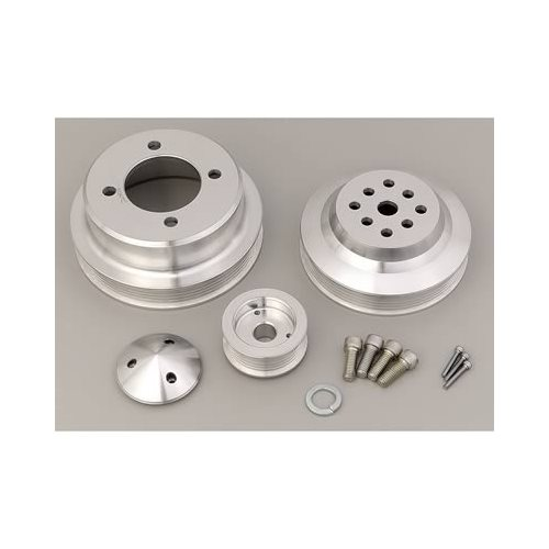 March Performance Pulley Kit Serpentine Performance Ratio: March Performance Ford 302-351W/C Serpentine Conversion