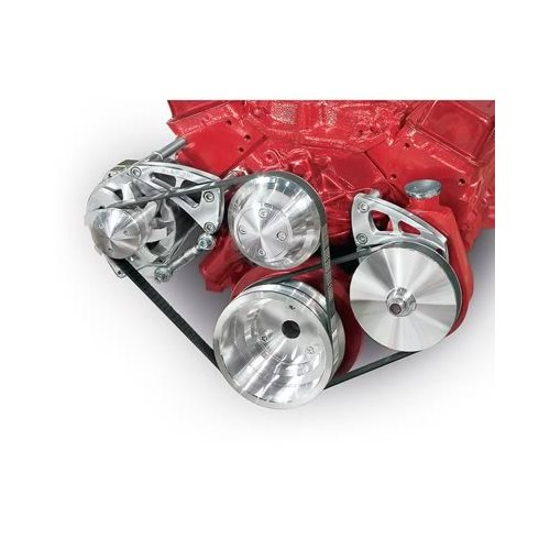 March Performance Pulley Kit Serpentine Performance Ratio: March Performance Pulley Kit Serpentine Aluminum Polished