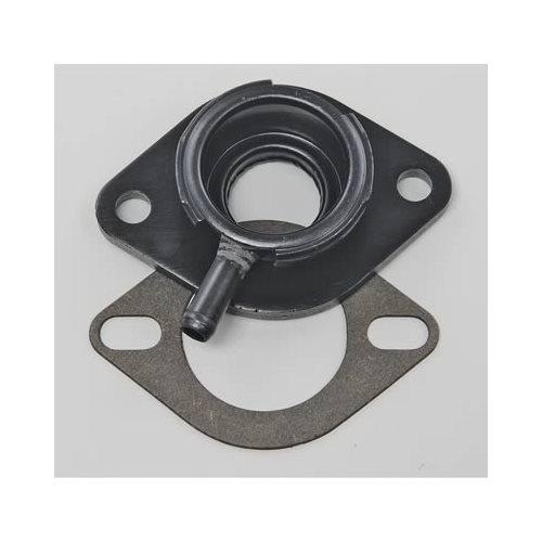 Moroso Water Neck Billet Aluminum Black Anodized Radiator