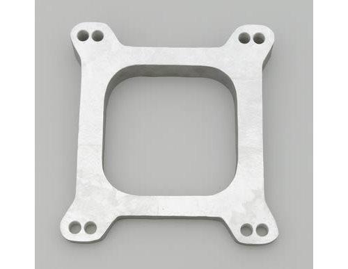Carb Wedge Spacers : Moroso carburetor spacer aluminum natural degree