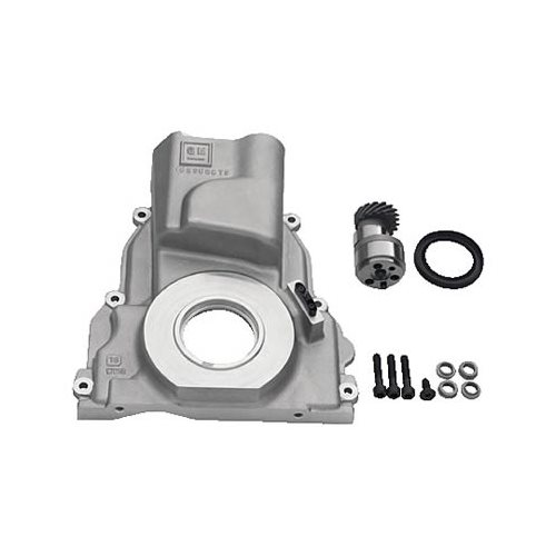 Chevrolet Performance 12562818 Timing Chain Cover: GM Performance Timing Cover Conversion 1-Piece Aluminum
