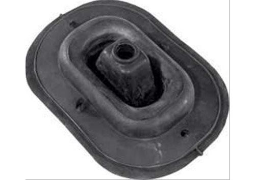 Oer shift boot retainer steel chrome rectangular