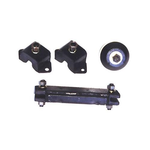 Omix ada motor mounts transmission mount rubber black jeep for Jeep motor mount bracket