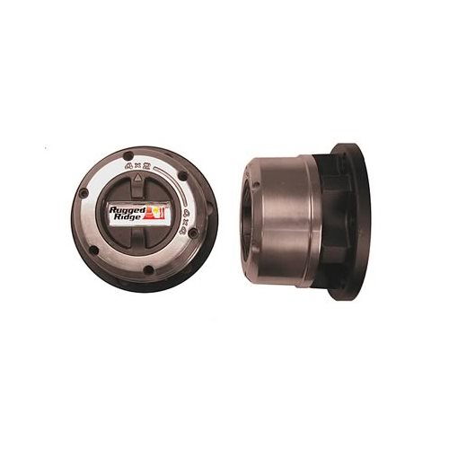 Rugged Ridge Manual Locking Hubs 1500129 Cast Aluminum Ebay