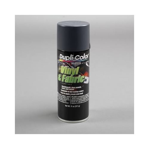 dupli color dye vinyl and fabric coating gloss charcoal gray 11 oz aerosol ea ebay. Black Bedroom Furniture Sets. Home Design Ideas