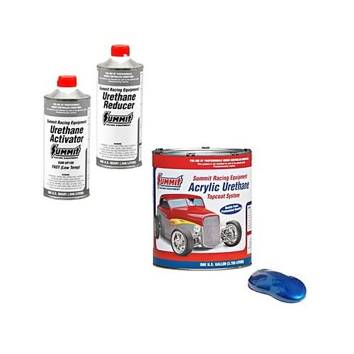 Summit Racing Equipment Acrylic Urethane Paint Combo Csumup310