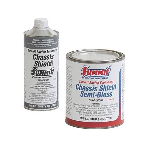 Epoxy Paint Brush : Summit racing chassis paint kit epoxy semi gloss black