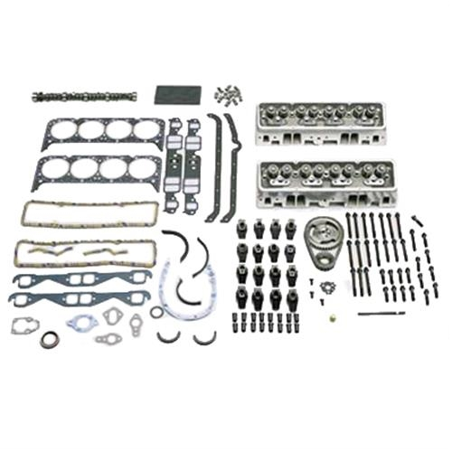 Trick Flow Super 23 195 Cylinder Head For Small Block: Trick Flow 350 HP Super 23 Top-End Engine Kits For Small