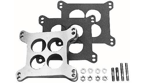 Carb Wedge Spacers : Trans dapt carburetor spacer aluminum natural degree