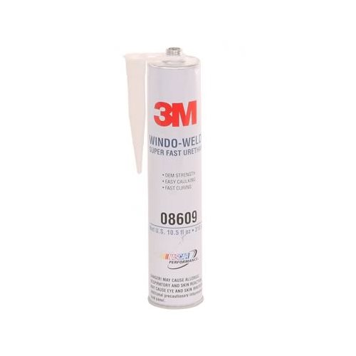 3m 08609 sealant window weld super fast urethane black