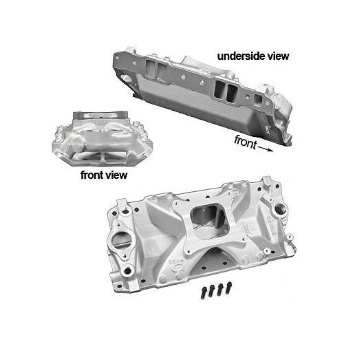 Weiand Team G Intake Manifold 7530 Chevy SBC 283 327 350
