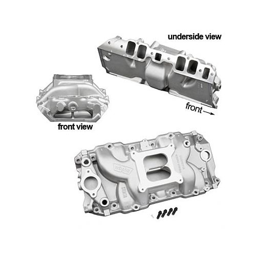 Weiand Stealth Intake Manifold Chevy BBC 396 427 454 Fits