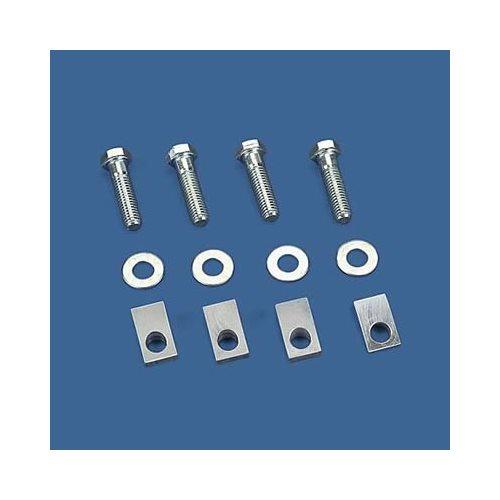 Weiand Adapter Intake Manifold Spacer Aluminum Bolts Allen