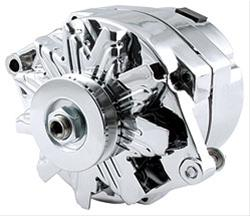 Allstar Performance GM Chrome Single Wire Alternators ALL80505 ...