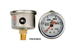 Aeromotive 15633 - Aeromotive Fuel Pressure Gauges
