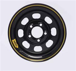 Aero Race Wheels 50-184730 - Aero Race Wheels 50 Series Black Powdercoat Roll-Formed Wheels
