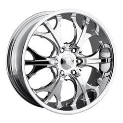 Voodoo Wheels 4046-2866 - VooDoo 404 Series Chrome Wheels