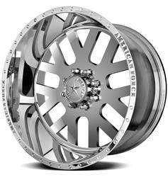 American Force Wheels AFTD60C17-1 - American Force Elite SS8 Series Polished Wheels