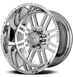 American Force Wheels AFTC61D22-1 - American Force Rebel SS8 Series Polished Wheels