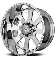American Force Wheels AFTC65C17-1 - American Force Recon SS8 Series Polished Wheels