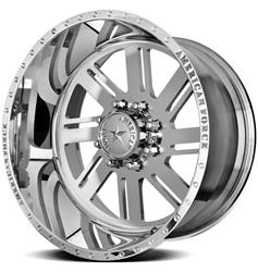 American Force Wheels AFTC70G24-1 - American Force Shift SS8 Series Polished Wheels