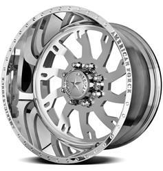 American Force Wheels AFTC81F25-1 - American Force Raptor SS8 Series Polished Wheels