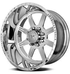 American Force Wheels AFTD90G24-1 - American Force Hero SS8 Series Polished Wheels