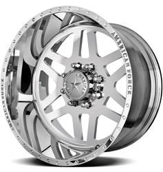 American Force Wheels AFTD09G24-1 - American Force Liberty SS8 Series Polished Wheels