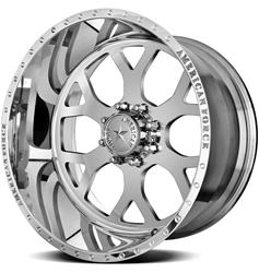 American Force Wheels AFTC98C17-1 - American Force Shield SS8 Series Polished Wheels
