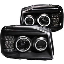 2003 Nissan Pathfinder Anzo Headlights 111172 Usa