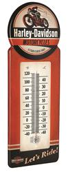 Summit Gifts HDL-10098 - Harley-Davidson® Motorcycles Indoor/Outdoor Thermometers